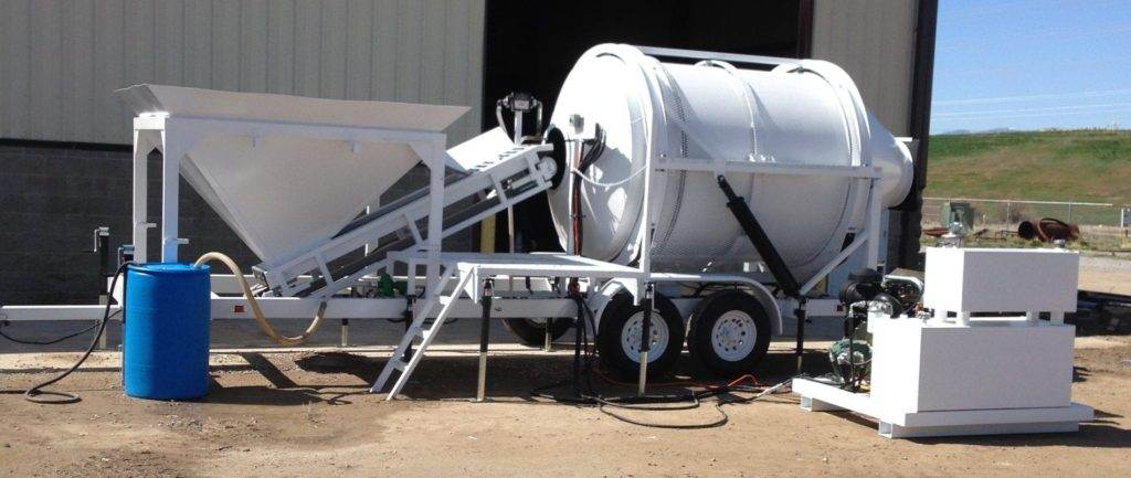 Portable Concrete Mixer Batch Plant EZ 2-3